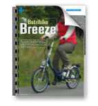 Electric Bike magazine reviews the Batribike Breeze folding electric bike