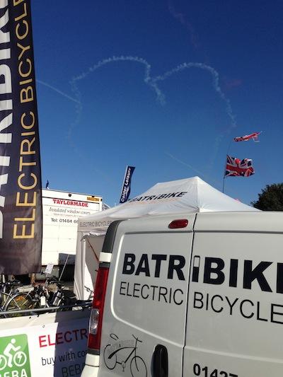 Heart over Batribike