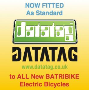 BATRIBIKE fit Datatag as standard