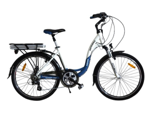 diamond pro blue electric bike
