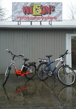 Wilson's Motorcycles and Batribike