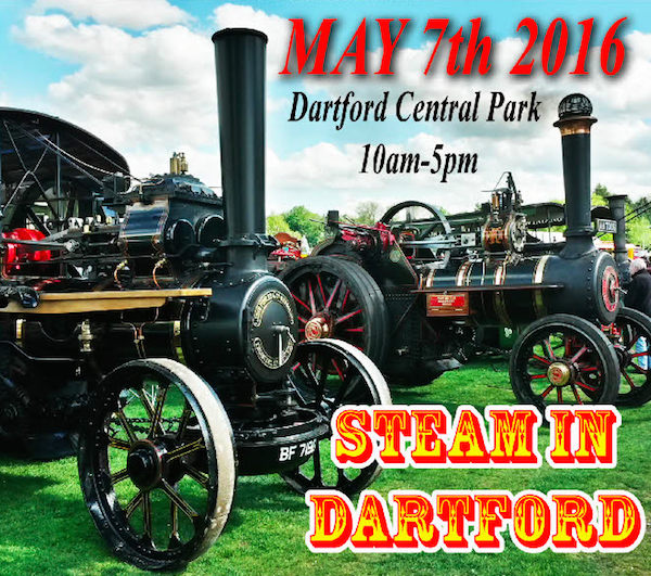 Steam in Dartford