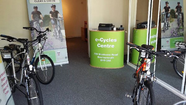 e-Cycles Centre, inside