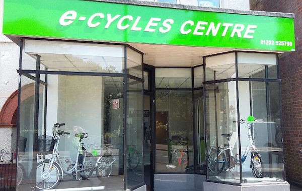 e-Cycles Centre, outside