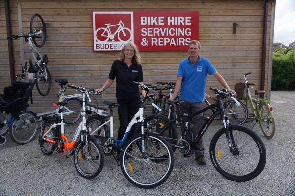 Batribike at Bude Bikes