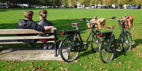 Francis-Barnett classic electric bikes