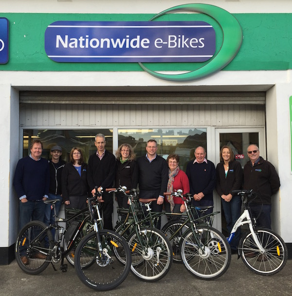 Nationwide e-Bikes staff
