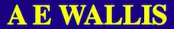 A E Wallis logo