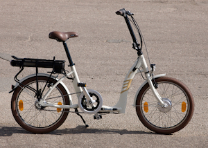 Sigma folding electric bike