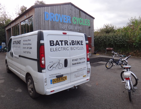 Electric bikes at Drover Cycles