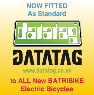 BATRIBIKE fit Datatag as standard