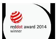 Red Dot award winner 2014