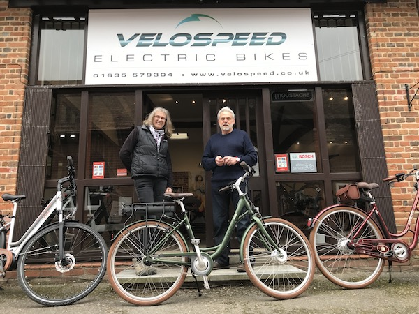 Velospeed electric bikes, Newbury, Berkshire