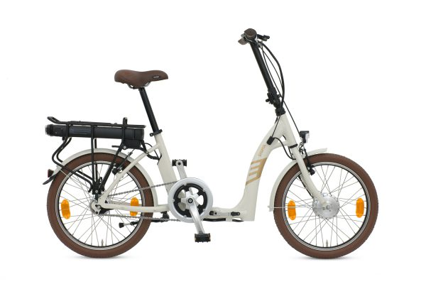 BATRIBIKE SIGMA   Super Low Step-Through   Hub Gears - nothing to catch when storing   Folding Electric Bike