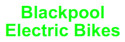 Blackpool Electric Bikes logo | electric bikes Cleveleys