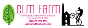 Elm Farm Cycles logo | electric bike Redruth Cornwall